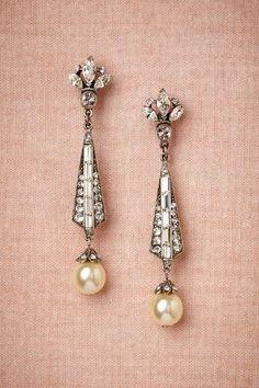 Spire Earrings - Wedding look