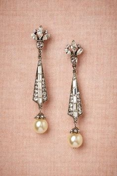 Spire Earrings - Wedding look