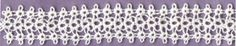 4 shuttle strip of tatting