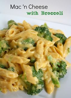 (Healthier) Mac 'n Cheese with Broccoli (going to try with asparagus)