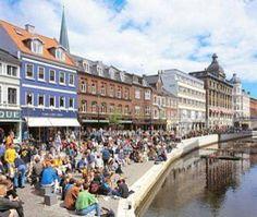 Visiting the Aarhus Festival in Aarhus, Denmark: Aarhus, Denmark