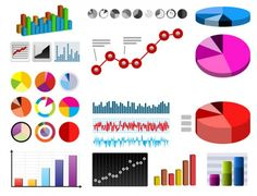Tabelas e gráficos em formato vetorial | Vetores diário gratuito | Download de Alta Qualidade Vetores grátis Diário