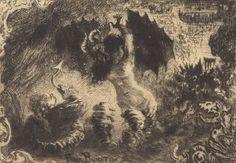 Le Diable Amoureux (1878 - Etching and drypoint) - Félix-Hilaire Buhot