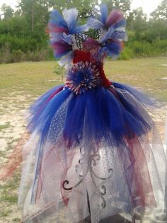 4th of July Tutu Dress by MyOliviasCloset on Etsy, $55.00