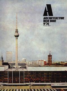 Berlin 70s ddr architecture