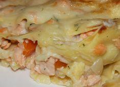 Lasagnes au saumon frais