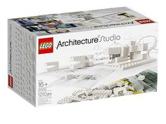 "LEGO Architecture Studio: ""In this amazing set you get over 1200 LEGO bricks and an inspirational guidebook filled with 272 pages of tips, techniques, features, and intuitive hands-on exercises endorsed by leading design houses."""