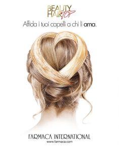 Per #sanvalentino affida i tuoi #capelli a chi li #ama rivolgiti ad un #acconciatore #beauty #hair #top