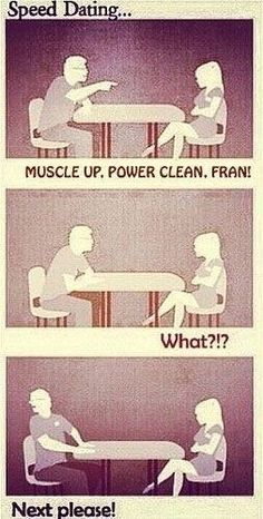 Crossfit Speed dating?? YES, please!
