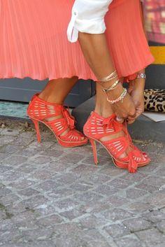 Love those heels.