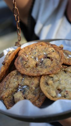 Chocolate Chip Cookies Recept, Kitchen Queen, Sweet Recipes, Oreo, Recipies, Good Food, Chips, Sweets, Domestic Goddess