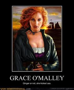 Grace O'Malley, pirate queen of Ireland