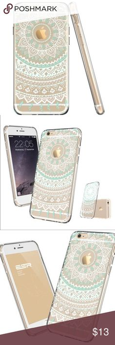 NWT Clear henna boho mandala flexi iPhone 6 case Super cute crystal case for iPhone 6 and 6s! Brand new in packaging. Accessories Phone Cases