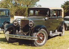 1929 Nash - photo taken in Christchurch in the 70's