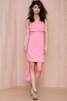 Nasty Gal Love or Desire Pleated Dress - Dresses