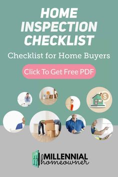 Before you make an offer use this home inspection checklist to see if there are items to inspect. This house inspection checklist includes interior and exterior items you must see before you make an offer.  Download this house hunting tool now!