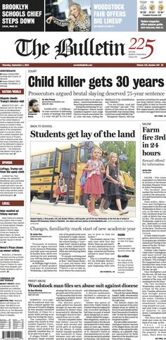 Thursday, September 1, 2016 - Subscribe to The Bulletin today: http://www.norwichbulletin.com #ctnews #newlondoncounty #windhamcounty