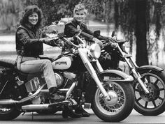 """Linda """"Jo"""" Giovannoni and Sommer Simmons  Linda """"Jo"""" Giovannoni (pronounced Joe-Van-No-Knee) is an influential motorcycle journalist and rider who co-founded Harley Women magazine, the first national motorcycling publication devoted to women motorcycle enthusiasts. Her involvement with Harley Women led to appearances on national shows such as Geraldo, The Vicki Lawrence Show, National Public Radio and many more. The book """"Hear Me Roar,"""" by Ann Ferrar, also features Giovannoni."""