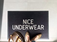 Lustiger Fußmatte_Halfie's Style