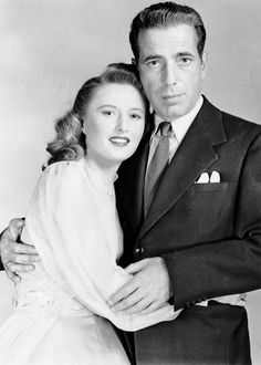 Barbara Stanwyck and Humphrey Bogart