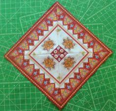 Triangle Squares Quilt Blocks Equiltsusa.com