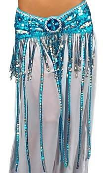 Beaded Satin Belly Dance Belt with Sequin Butterfly Design & Fringe - BLUE TURQUOISE-This sequin beaded belly dance costume belt with butterfly design, multi-color faux gems, and beaded fringe is great for Egyptian and Cabaret style belly dance. Belly Dance Belt, Tribal Belly Dance, Belly Dancers, Jazz Dance Costumes, Belly Dance Costumes, Belly Dancing Videos, Dance Gear, Native American Clothing, Salsa Dress