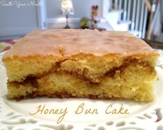 South Your Mouth: Honey Bun Cake