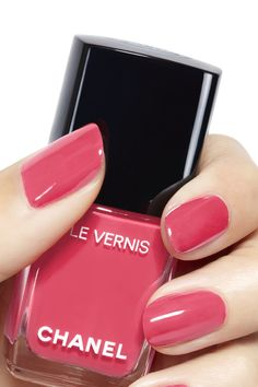 Semi-permanent varnish, false nails, patches: which manicure to choose? - My Nails Classy Nails, Stylish Nails, Trendy Nails, Cute Nails, My Nails, Chanel Nail Polish, Chanel Nails, Essie Nail Polish, Chanel Chanel