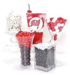 Tampa Bay Buccaneers Candy Buffet Kit