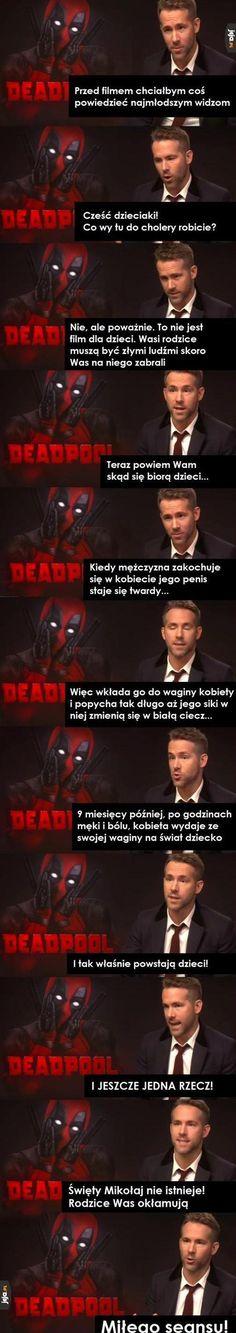 """Zabierasz swoje dziecko na """"Deadpoola""""?"""