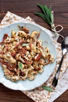 We Had No Idea You Could Do THIS With Cauliflower #refinery29  http://www.refinery29.com/cauliflower-recipes#slide-2  Roasted Cauliflower with Sage Browned ButterBrowned butter with crispy sage and pancetta make anything decadent — even cauliflower. ...