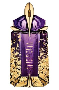 Alien by Thierry Mugler 'Divine Collector' Eau de Parfum Refillable Spray (Limited Edition) Fragrance Parfum, New Fragrances, Shades Of Purple, Purple Gold, Magenta, Alien Perfume, Perfumes Vintage, Or Violet, Thierry Mugler Alien