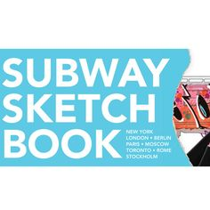 subway sketchbook $8 Want to buy this for Mathew