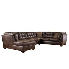 leather sectional? Why yes, I would love one!