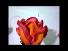 Tecnica de Pintura-en Flores de Goma Eva