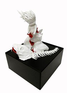 Creepy ceramic sculptures by Maria Rubinke