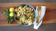 Chickpea and Lemon-Herb Pasta - Pulse Pledge
