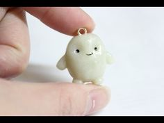 Doctor Who Adipose Tissue Charm polymer clay tutorial