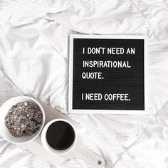 Only coffee gets me going. What about you? Cheers to a four-day workweek!