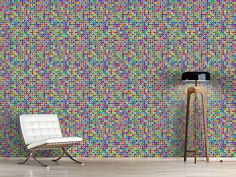 Design #Tapete Groovy Dots
