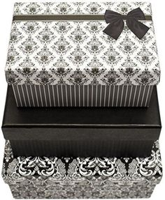 Alef Elegant Decorative Themed Nesting Gift Boxes -3 Boxes- Nesting Boxes Bea... | Home & Garden, Home Décor, Boxes, Jars & Tins | eBay!