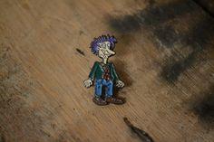 Rugrats: Stu Pickles Vintage Lapel Pin