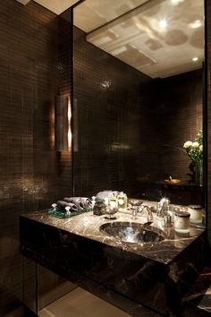 Powder Room || Photography by James Balston, image courtesy of Casa Forma