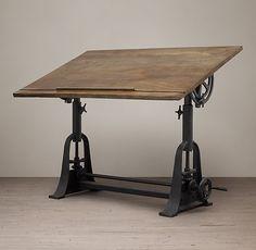 Restoration Hardware | 1910 American Trestle Drafting Table | $1495.