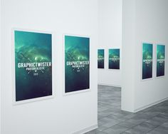Free Museum Mockup PSD (74.4 MB) | Graphic Twister