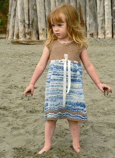 PDF Knitting Pattern Girlie Girl Dress  by KeepKnittinDesigns, $6.50