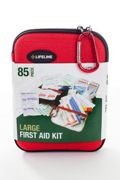 Zerohour Emergency Solutions First Aid Kit Camping Hiking New in Carry Case