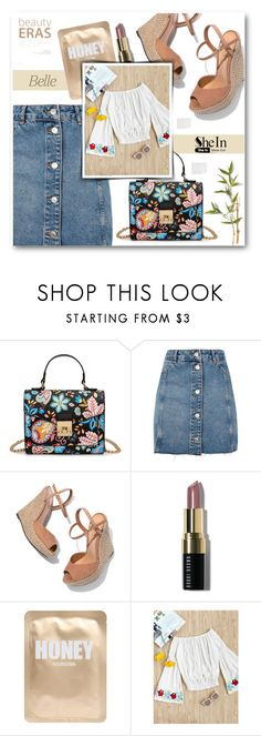 """""""shein"""" by tux-vij on Polyvore featuring Topshop, Schutz, Bobbi Brown Cosmetics and Lapcos"""