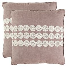 Safavieh 2 Pack Thora Pillow