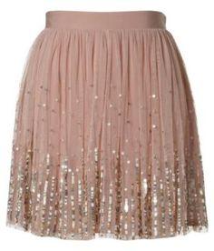 Lipsy Sequin Detail Tutu Skirt